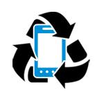 Gebrauchte Handys werden umweltfreundlich recycelt