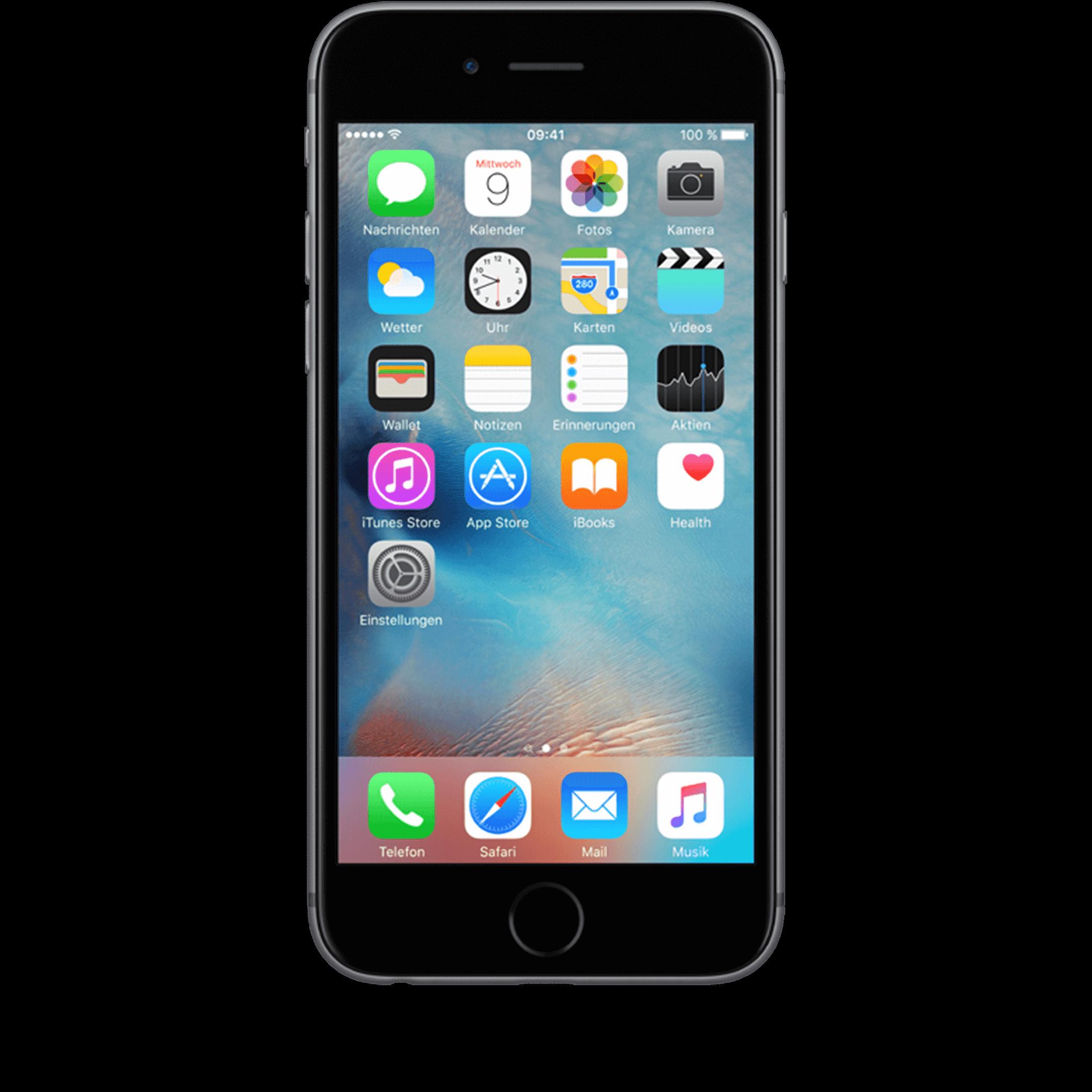 Apple iPhone 6s 32 GB grau mit Smart Flex